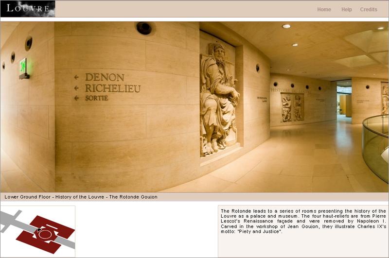 ルーブル美術館の Online Tour