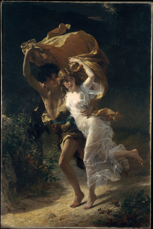 The Storm, 1880 Pierre-Auguste Cot (French, 1837–1883) Oil on canvas Source: Pierre-Auguste Cot: The Storm (87.15.134) | Heilbrunn Timeline of Art History | The Metropolitan Museum of Art