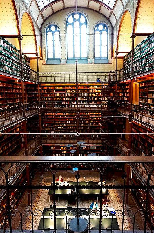 すばらしすぎた図書館