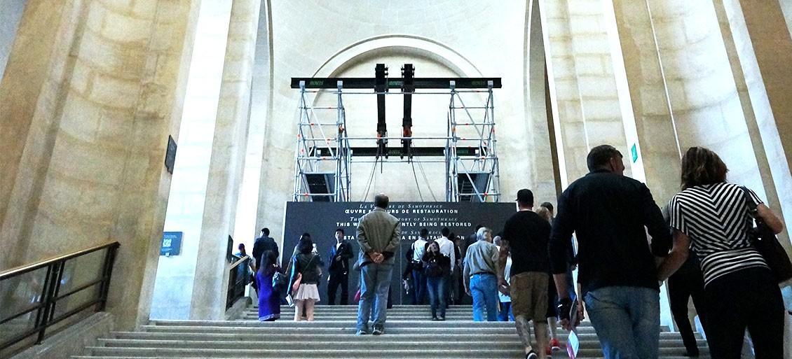 [TRAVEL] ルーヴル美術館でのクラウド・ファンディング・キャンペーンの様子を見てきました