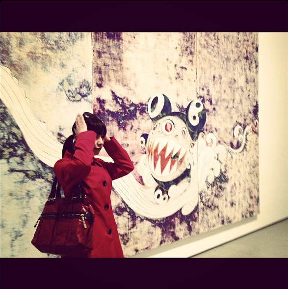 DOB くんとわたし。MoMA にて