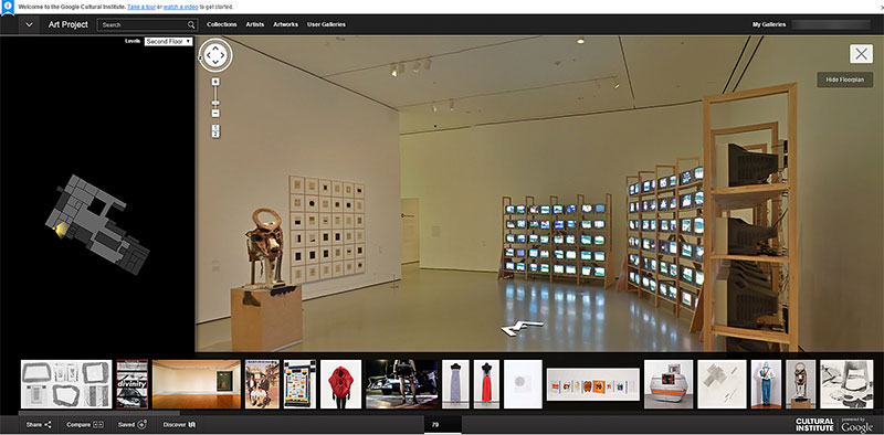 Google Art Project の MoMA